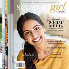 Product show image set apart girl magazine subscription